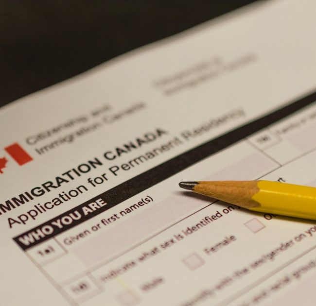 family class application permanent residence canada
