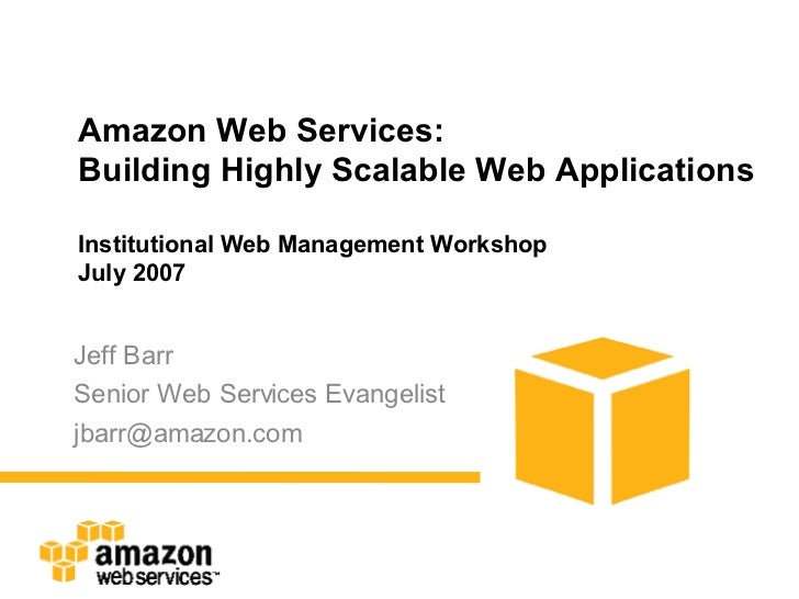 how to design scalable web applications