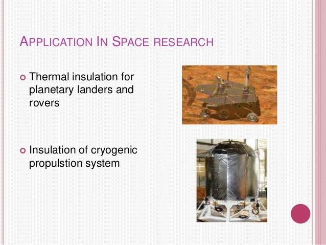 silica aerogel synthesis and applications