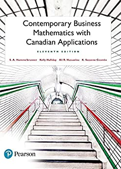 contemporary business mathematics with canadian applications ebook