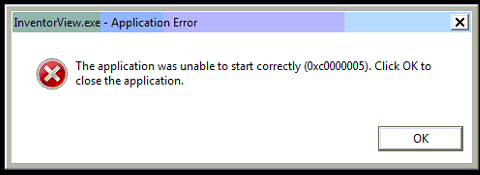 the application was unable to start correctly 0xc0000142 excel