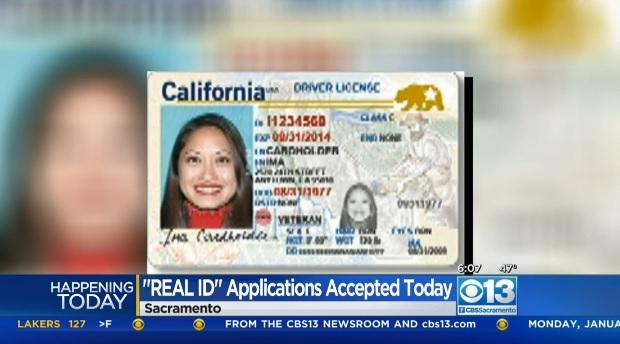 application for driver licensing and identification services