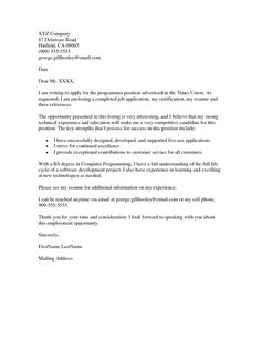 how to write cover letter for visa application