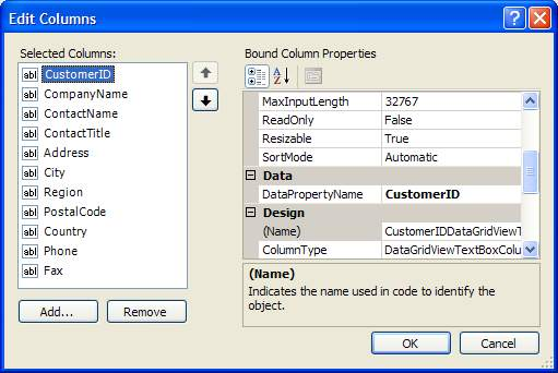 datagridview in c# windows application example