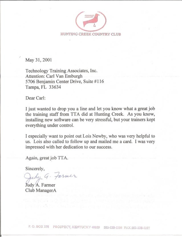 application letter for membership to a club