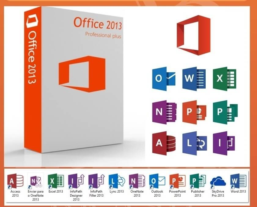 office professional plus 2013 applications