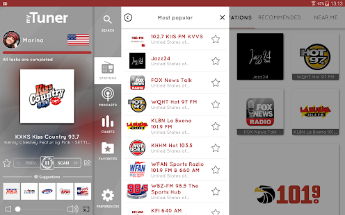 application radio fm pour android