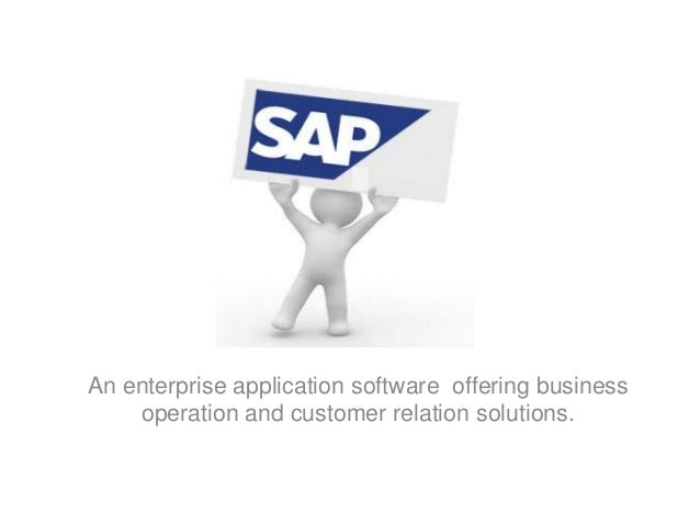 business applications and industry specific solutions offerings