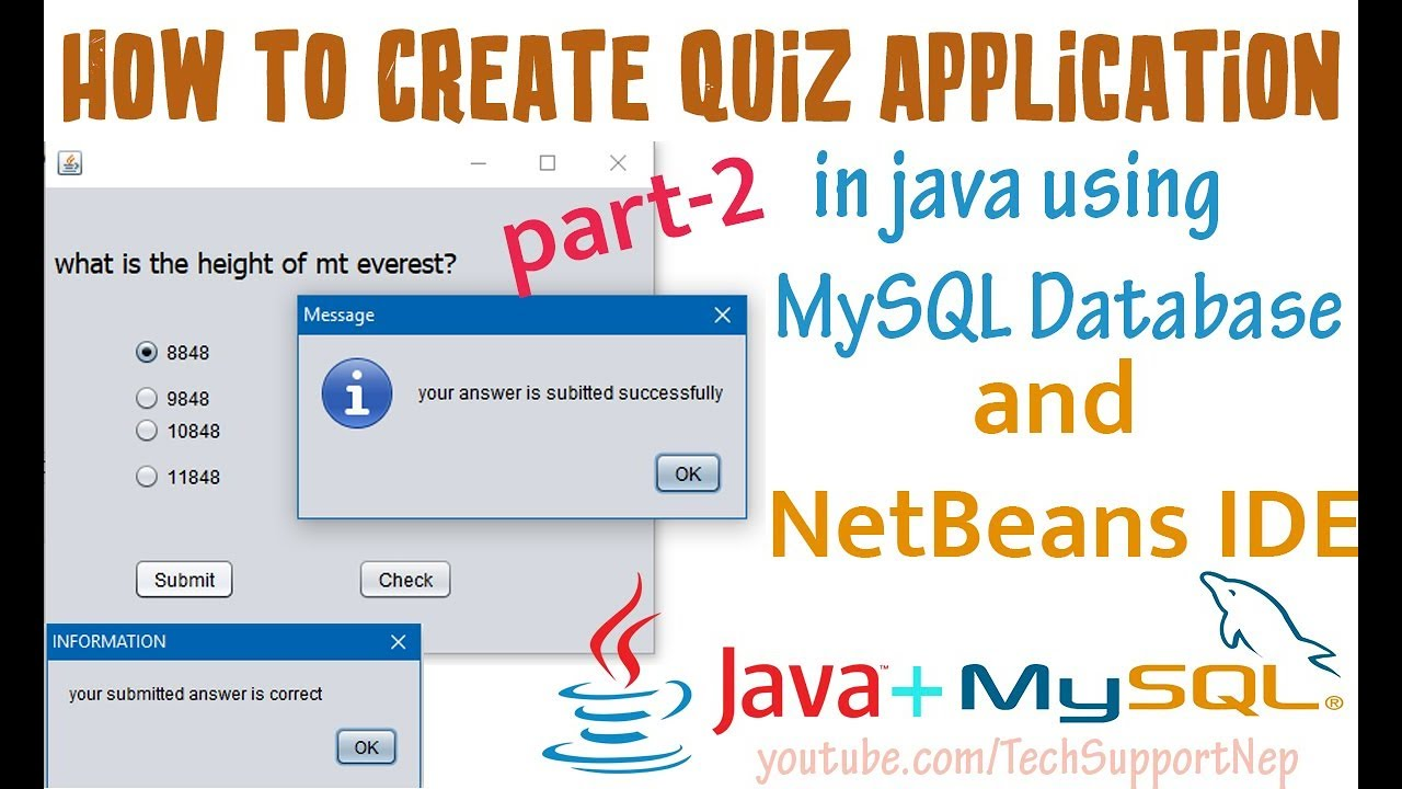 how to build a database application