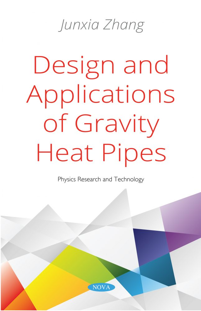 heat pipes theory design and applications