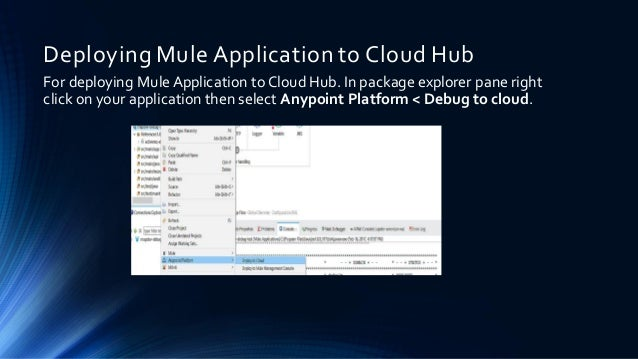 how to deploy mule application