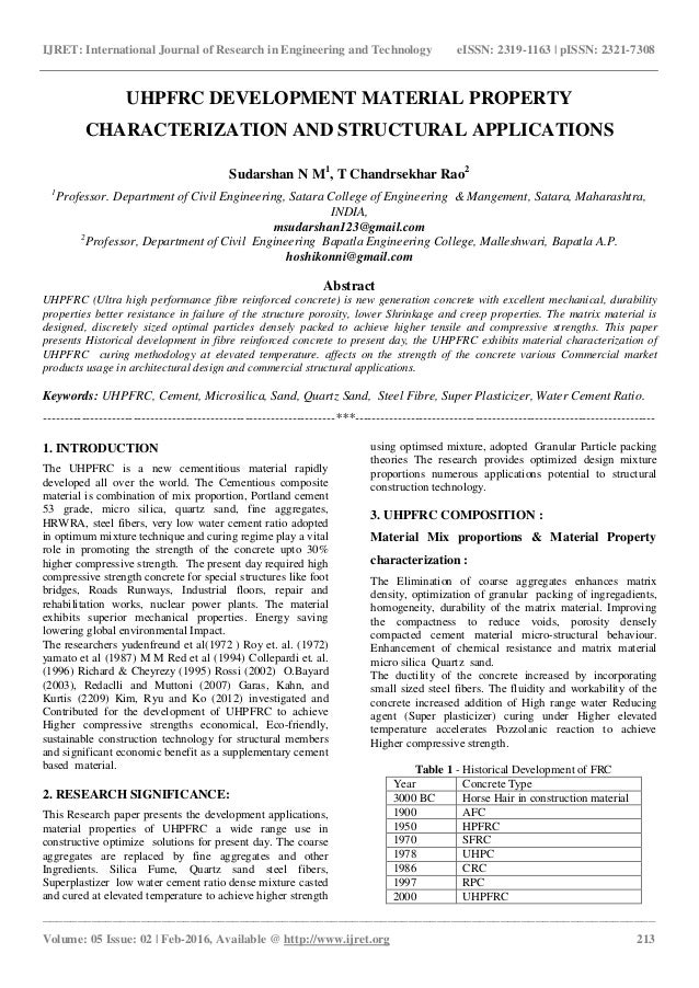 journal of materials and applications